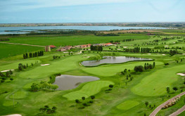 Vista aerea del golf club di Jesolo